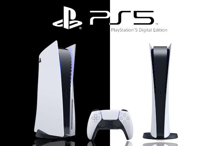 La Playstation 5 (G) et sa version Digital Edition. (SONY ENTERTAINMENT)
