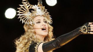 Performance de Madonna au Super Bowl le 5 février 2012  (Chad Ryan/NEWSCOM/SIPA)