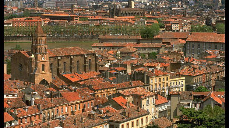 """Toulouse, la """"Ville rose""""... immortalisée par Nougaro. (JOHN VAN HASSELT - CORBIS / SYGMA / GETTY IMAGES)"""