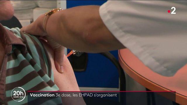 Covid-19 : troisième dose de vaccin pour les résidents en Ehpad