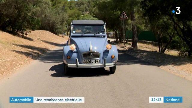Automobile : les 2CV passent au vert