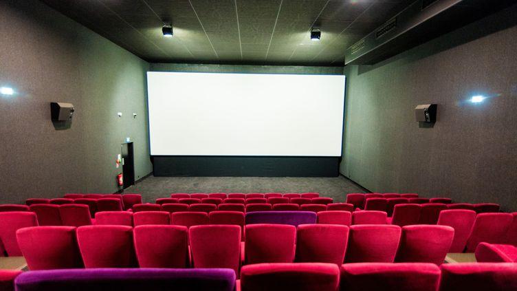 Une salle de cinéma en France en juin 2020. (STEPHANE FERRER YULIANTI / HANS LUCAS)