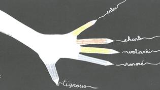 """Dessin de Lolipop retenu pour figurer dans le livre """"#Je dessine, la jeunesse dessine pour Charlie Hebdo après le 7 janvier""""  (Culturebox / Capture d'écran)"""