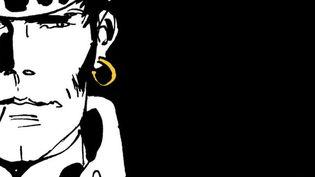 """Corto Maltese par Juan Diaz Canales et Ruben Pellejero, d'après Hugo Pratt, sur la couverture de l'album """"Sous le soleil de minuit"""" (2015).  (Casterman)"""