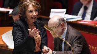 La ministre des Affaires sociales, Marisol Touraine, le 4 mars 2015 à l'Assemblée nationale à Paris. (LOIC VENANCE / AFP)