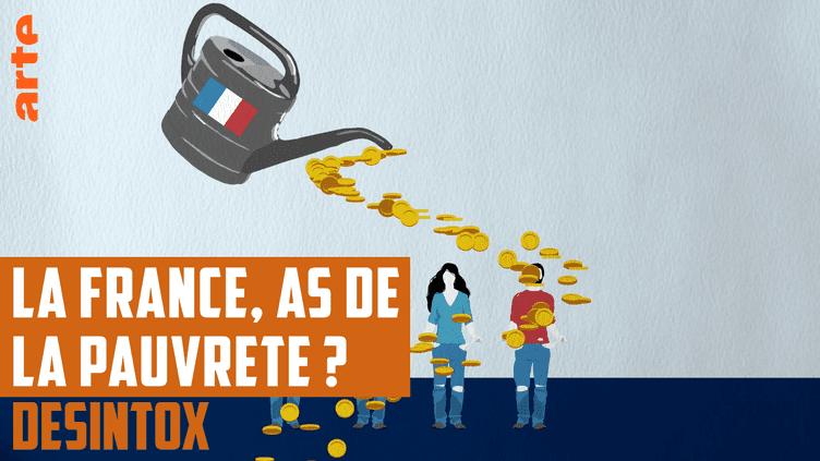 Depuis qu'Emmanuel Macron a déploré le «pognon dingue» dépensé par la France en aides sociales, le gouvernement tente de justifier la sortie présidentielle. (ARTE/LIBÉRATION/2P2L)