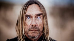"Iggy Pop dans le désert californien, en 2015, durant l'enregistrement de son album ""Post Pop Depression"".  (Andreas Neumann)"