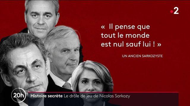Présidentielle 2022 : le drôle de jeu de Nicolas Sarkozy