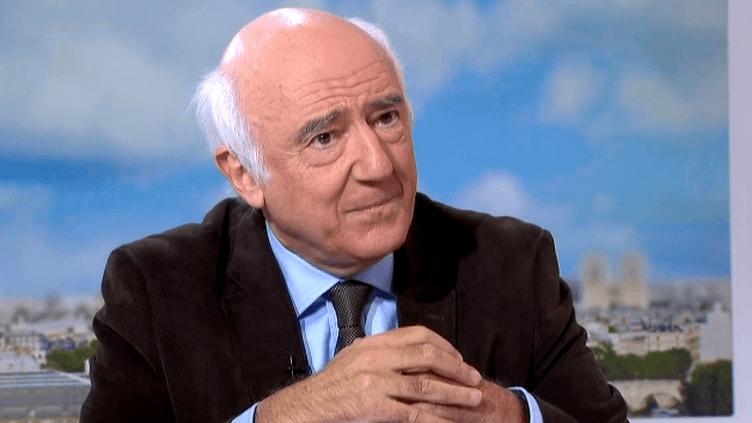 L'historien Jean-François Sirinelli invité du 13H de France 2, le 5 février 2016  (Culturebox / Capture d'écran)
