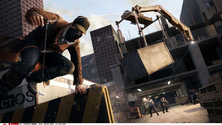 Une image tirée du nouveau jeu d'Ubisoft Watch Dogs, sorti mardi 27 mai 2014, sur consoles et PC. (UBISOFT / AP / SIPA)