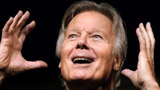 Jean Piat au théâtre en 2002  (FRANCOIS GUILLOT / AFP)