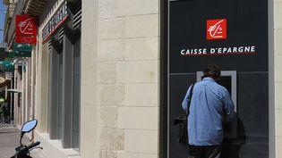 Une agence de la Caisse d'Epargne à Montpellier (Hérault), le 6 juin 2014. (MAXPPP)