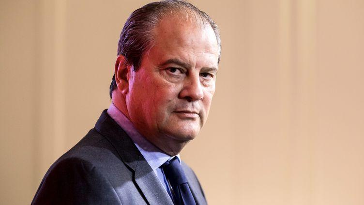 Le premier secrétaire du PS, Jean-Christophe Cambadélis, photographié à Paris le 19 octobre 2016. (MAXPPP)