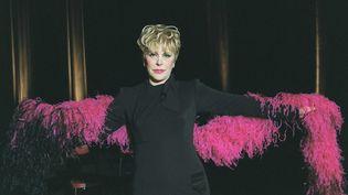La comédienne et humoriste Sylvie Joly au Casino de Paris, en 2001. (LECARPENTIER/SIPA / SIPA)