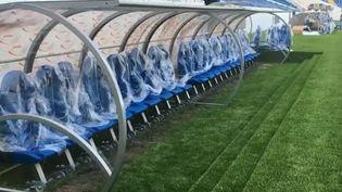 Une PME du Calvados a été choisie pour équiper la moitié des stades de la prochaine Coupe du monde de football en Russie avec ses bancs de touche. Un contrat exceptionnel qui fait la fierté des responsables et des salariés. (FRANCE 2)