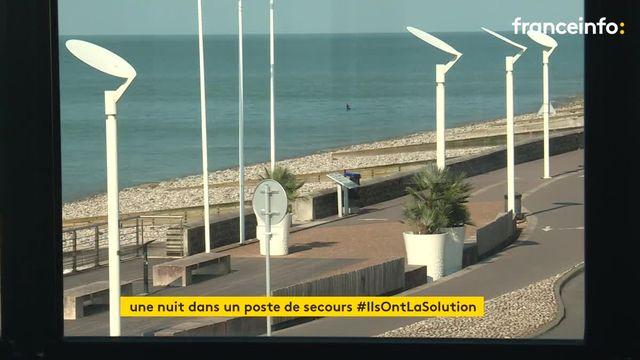 Un poste de secours près du Havre transformé en gite avec vue sur la mer