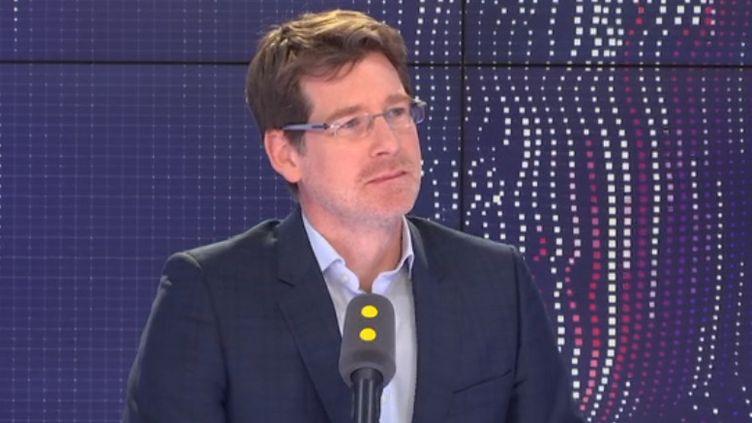 Pascal Canfin, député européen La République en Marche-Renaissance et ancien directeur général de WWF France. (FRANCEINFO / RADIOFRANCE)