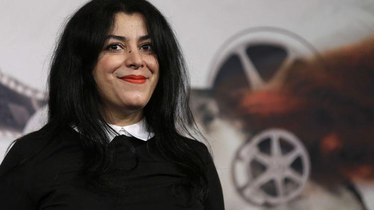 La réalisatrice et auteure de bande dessinée Marjane Satrapi. (ALESSANDRA TARANTINO/AP/SIPA / AP)
