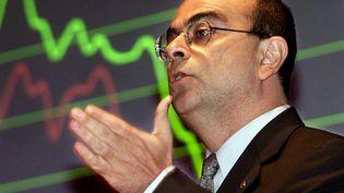 Carlos Ghosn (YOSHIKAZU TSUNO / AFP)