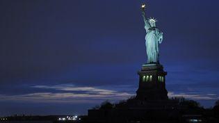 La statue de la liberté à New York, le 17 octobre 2015. (JEAN ISENMANN / ONLY WORLD / AFP)