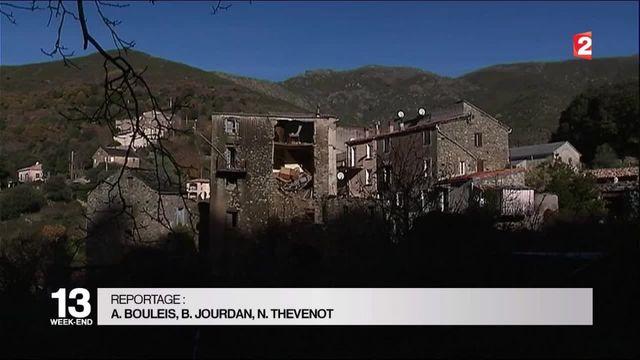 Haute-Corse : un village sinistré