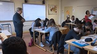 Collège à Argenteuil (FRANCE 2)