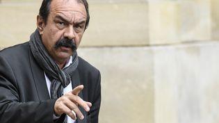 Philippe Martinez, secrétaire général de la CGT, à Matignon, à Paris, le 26 novembre 2019. (BERTRAND GUAY / AFP)