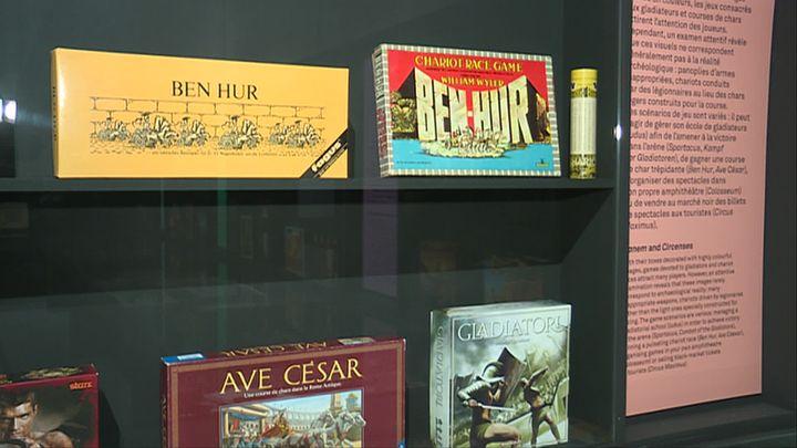 Des exemples de jeux de société inspirés du monde antique. (P. Perrel  / France Télévisions)
