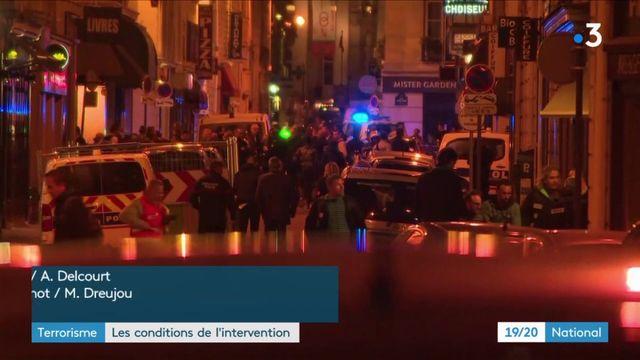 Attentat à Paris : les conditions de l'intervention