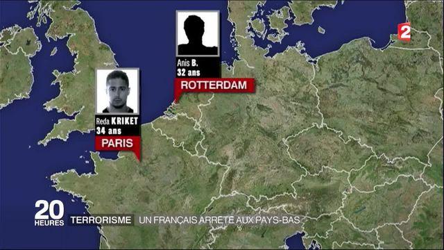 Attentat déjoué en France : un Français de 32 ans interpellé à Rotterdam