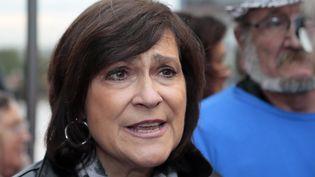 Marie-Arlette Carlotti, ministre déléguée aux Personnes handicapées et à la Lutte contre l'exclusion, le 17 octobre 2012 à Paris. (JACQUES DEMARTHON / AFP)