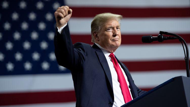 Donald Trump, le 31 juillet 2018. (SAUL LOEB / AFP)
