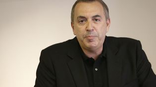 Jean-Marc Morandini, durant une conférence de presse, le 19 juillet 2016. (GEOFFROY VAN DER HASSELT / AFP)