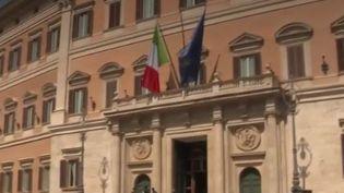 Drapeau italien (FRANCE 3)