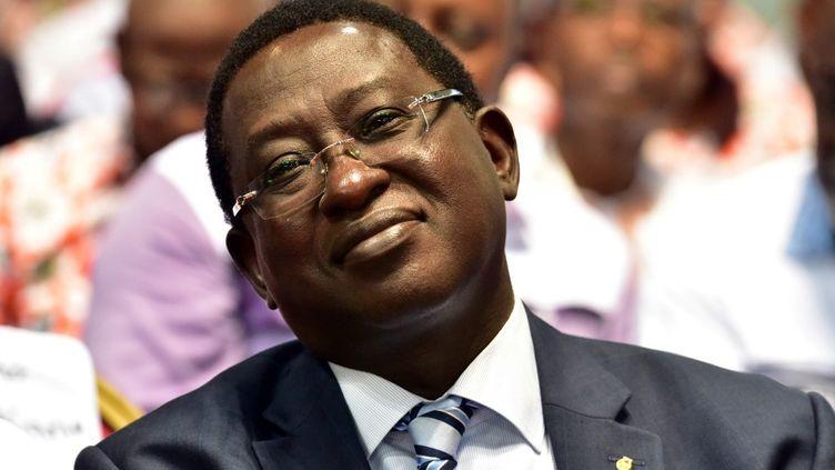 L'homme politique malienSoumaïla Cissé, le 10 septembre 2017, à Abidjan (Côte d'Ivoire). (ISSOUF SANOGO / AFP)