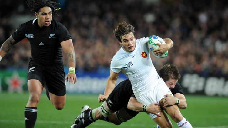 Le Quinze de France avait affronté en finale de la Coupe du monde de rugby la Nouvelle-Zélande en 2011. Les Bleus s'étaient inclinés. (FRANCK FIFE / AFP)