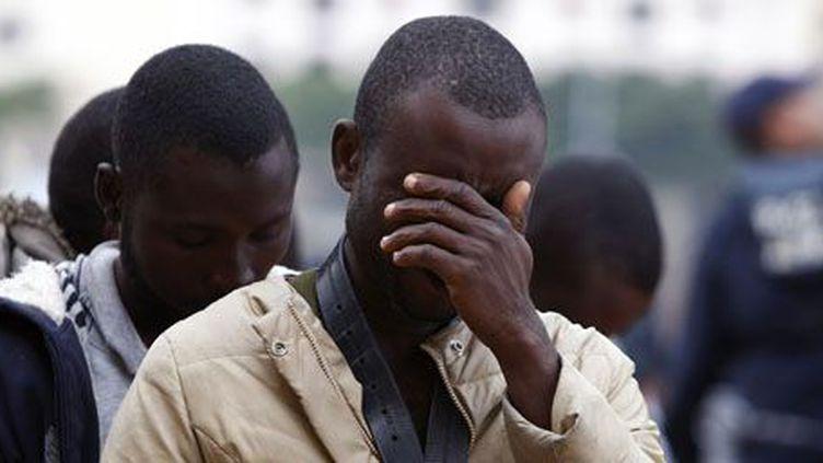 Un migrant africain arrive sur le sol européen. (darrin Zammit Lupi / Reuters)