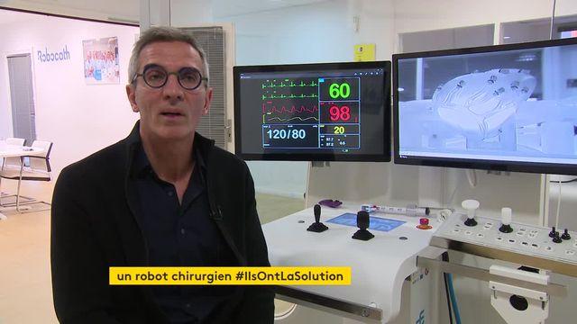 Les AVC et infarctus bientôt mieux pris en charge grâce à un robot
