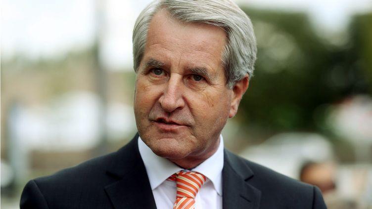 Le chef de file de la droite et du centre pour les élections régionales en Alsace-Champagne-Ardenne-Lorraine, Philippe Richert, le 3 septembre 2015 à Strasbourg. (  MAXPPP)