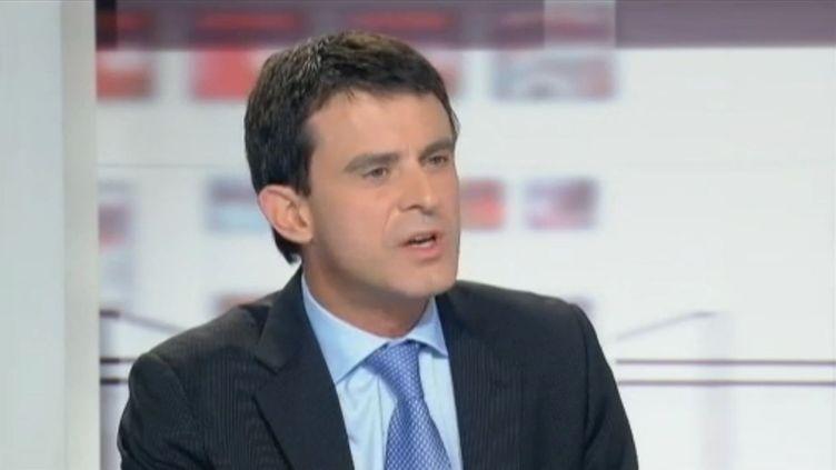 Manuel Valls, le 21 novembre 2011. (France 2)