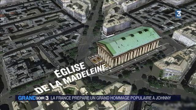 Un grand hommage rendu à Johnny Hallyday samedi à Paris