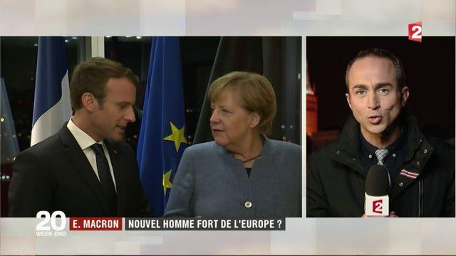 Emmanuel Macron : le nouvel homme fort de l'Europe ?