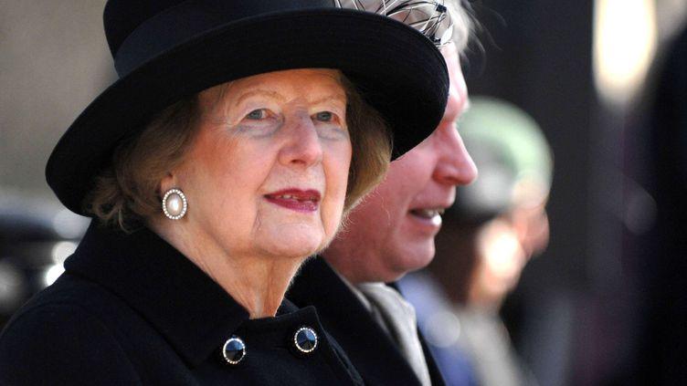 L'ancienne Première ministre britannique, Margaret Thatcher, le 8 mars 2010 à Londres (Royaume-Uni). (REX / SIPA)