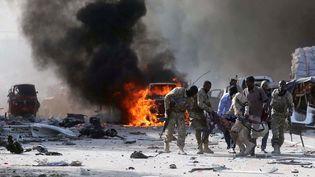 Un attentat au camion piégé fait au moins 140 morts et 300 blessés à Mogadiscio. (Reuters/ Feisal Omar)