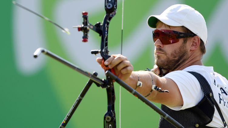 L'archer français Jean-Charles Valladont  (PHILIPPE MILLEREAU / DPPI MEDIA)
