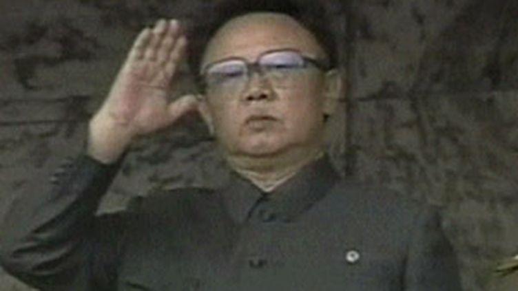Kim Jong-il, le dirigeant de la Corée du Nord, l'un des pays les plus autoritaires au monde. (archives) (France 3)