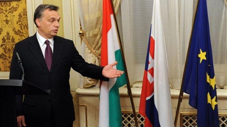 Le Premier ministre hongrois, Viktor Orban (décembre 2010) (AFP/Samuel KUBANI)