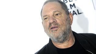 """Harvey Weinstein lors de la projection pour les 25 ans du film """"Resevoir Dogs"""", à New York (Etats-Unis), le 28 avril 2017. (DENNIS VAN TINE / GEISLER-FOTOPRESS / AFP)"""