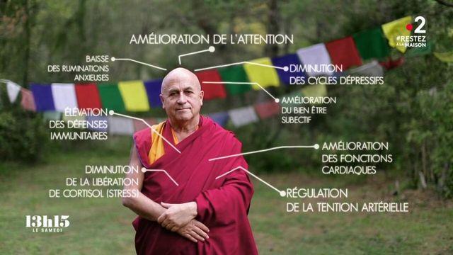 """VIDEO. """"Faut pas se prendre la tête"""" : deux ou trois choses à savoir sur la méditation, par le moine Matthieu Ricard"""