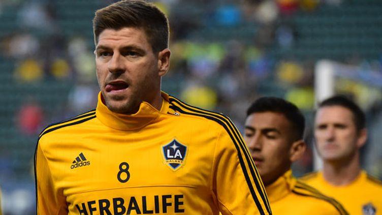 Le joueur anglais Steven Gerrard